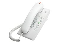 Cisco Unified IP Phone 6901 Standard - VoIP-telefon - SCCP - arctic white CP-6901-W-K9=