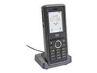 Cisco IP DECT Phone 6825 - Trådlös förlängningshandenhet - med Bluetooth interface - DECT - SIP - 2 linjer - med Cisco IPDECT 210 Multi-Cell Basestation CP-6825-3PC-BUN-CE