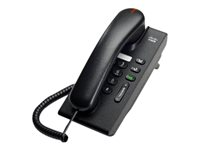 Cisco Unified IP Phone 6901 Slimline - VoIP-telefon - SCCP - träkol CP-6901-CL-K9=