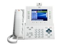 Cisco Unified IP Phone 9951 Standard - IP-videotelefon - SIP - multilinje - arctic white CP-9951-W-CAM-K9=