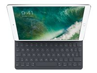 Apple Smart - Tangentbord och foliefodral - Apple Smart connector - svenska - för 10.2-inch iPad (7:e generation); 10.5-inch iPad Air (3:e generationen); 10.5-inch iPad Pro MPTL2S/A
